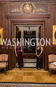 Maria Contos and Artemis Papademetriou, 2018 Viennese Ball, Nov 10 2018, Elyse Cosgrove.ARW