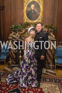 Wendy Wang, Lukas Klotzsche, 2018 Viennese Ball, Nov 10 2018, Elyse Cosgrove.ARW