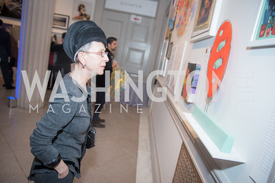 Irene Roth,  15th Annual Transformer Silent Art Auction and Benefit Party, November 17, 2018.  Photo by Ben Droz.