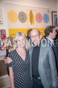 Kay Kendall, Gordon Dale,  15th Annual Transformer Silent Art Auction and Benefit Party, November 17, 2018.  Photo by Ben Droz.