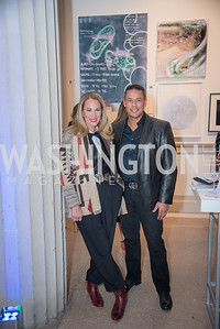 Patricia Howell, Lloyd Howell,  15th Annual Transformer Silent Art Auction and Benefit Party, November 17, 2018.  Photo by Ben Droz.