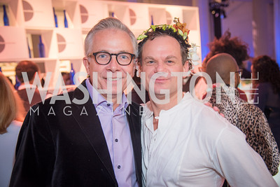 Paul Smedberg, James Alefantis,  15th Annual Transformer Silent Art Auction and Benefit Party, November 17, 2018.  Photo by Ben Droz.
