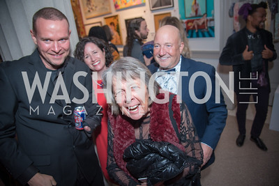 Molly Rupert,  15th Annual Transformer Silent Art Auction and Benefit Party, November 17, 2018.  Photo by Ben Droz.