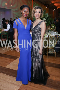 Ryan Jackson, Shanti Proctor. Photo by Tony Powell. 2018 Alvin Ailey DC Gala. Kennedy Center. February 6, 2018
