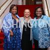 Alicia Batts, Marilyn Charity, Judith Batts. Photo by Tony Powell. 2018 Alvin Ailey DC Gala. Kennedy Center. February 6, 2018
