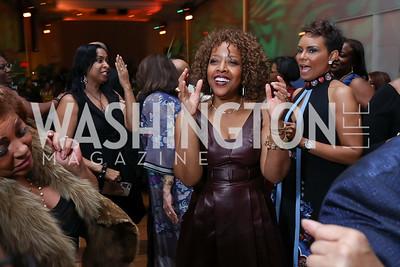 Gina Adams. Photo by Tony Powell. 2018 Alvin Ailey DC Gala. Kennedy Center. February 6, 2018