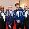 Christopher Womack, Bennett Rink, Lyndon Boozer, John Tinpe. Photo by Tony Powell. 2018 Alvin Ailey DC Gala. Kennedy Center. February 6, 2018