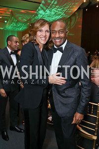 Hillary Baltimore, Reginald Van Lee. Photo by Tony Powell. 2018 Alvin Ailey DC Gala. Kennedy Center. February 6, 2018
