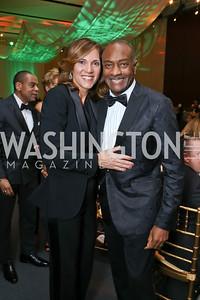 Hillary Baltimore, Reginald Van Lee. Photo by Tony Powell. 2018 Alvin Ailey DC Gala. Kennedy Center. February 6, 2018