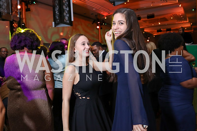 Lily Grainger, Maggie Bujor. Photo by Tony Powell. 2018 Alvin Ailey DC Gala. Kennedy Center. February 6, 2018