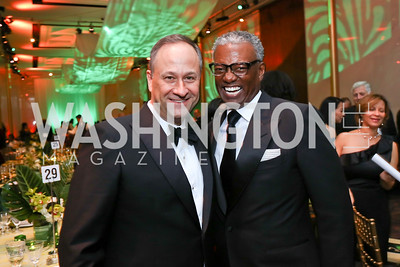 Doug Emhoff, Art Collins. Photo by Tony Powell. 2018 Alvin Ailey DC Gala. Kennedy Center. February 6, 2018