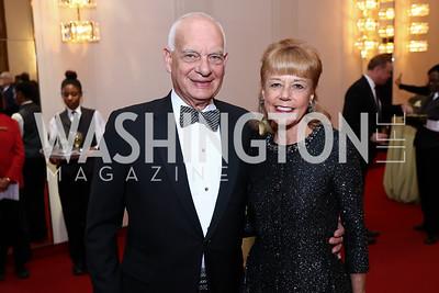 Eric and Daria Wallach. Photo by Tony Powell. 2018 Alvin Ailey DC Gala. Kennedy Center. February 6, 2018