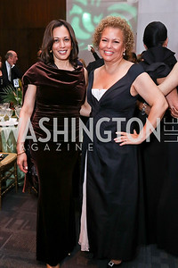 Sen. Kamala Harris, Debra Lee. Photo by Tony Powell. 2018 Alvin Ailey DC Gala. Kennedy Center. February 6, 2018