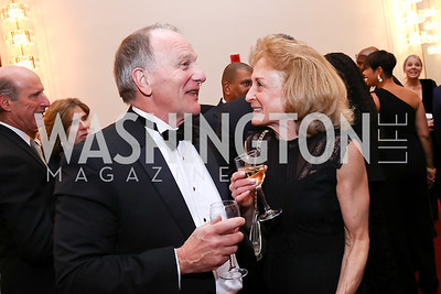 Bob Springer, Jane Hurst. Photo by Tony Powell. 2018 Alvin Ailey DC Gala. Kennedy Center. February 6, 2018