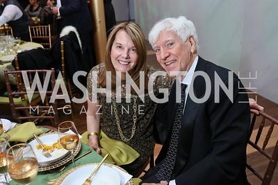 Carol Melton, Joe Hassett. Photo by Tony Powell. 2018 Alvin Ailey DC Gala. Kennedy Center. February 6, 2018