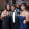 Mary Barth, Alix DeJean, Charrisse Jordan. Photo by Tony Powell. 2018 Alvin Ailey DC Gala. Kennedy Center. February 6, 2018