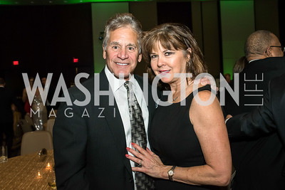 Dan and Barbara D'Agostino. Photo by Tony Powell. 2018 Capital Caring Gala. Marriott Marquis. November 17, 2018