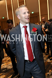 Lars Eller. Photo by Tony Powell. 2018 Capitals Casino Night II. MGM. October 14, 2018