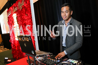 DJ Phlipz. Photo by Tony Powell. 2018 Capitals Casino Night II. MGM. October 14, 2018