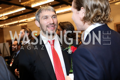 Alex Ovechkin. Photo by Tony Powell. 2018 Capitals Casino Night II. MGM. October 14, 2018
