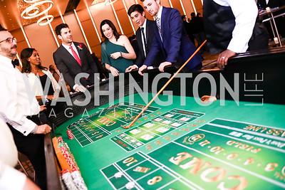 Tom Wilson. Photo by Tony Powell. 2018 Capitals Casino Night. MGM. January 4, 2018