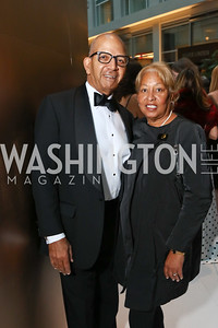 Tony and Diane Williams. Photo by Tony Powell. 2018 Catholic Charities Gala. Marriott Marquis. April 7, 2018