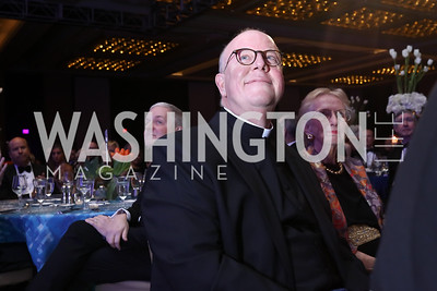 Father William Byrne. Photo by Tony Powell. 2018 Catholic Charities Gala. Marriott Marquis. April 7, 2018