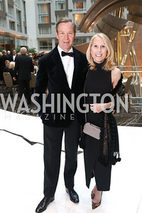 Keith and Marianne Powell. Photo by Tony Powell. 2018 Catholic Charities Gala. Marriott Marquis. April 7, 2018