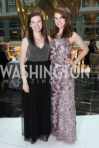 Marisel Wilbur, Amy Mulvey. Photo by Tony Powell. 2018 Catholic Charities Gala. Marriott Marquis. April 7, 2018