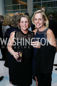 Jennifer Vermillion, Jen Rowan. Photo by Tony Powell. 2018 Catholic Charities Gala. Marriott Marquis. April 7, 2018