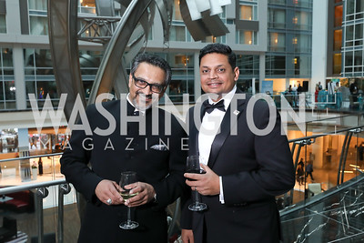 John Parikh, Vishal Amin. Photo by Tony Powell. 2018 Chamber of Commerce Gala. October 19, 2018