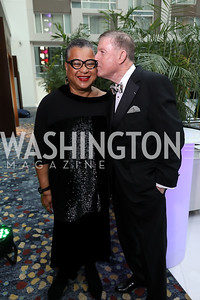 Marie Johns, Doug Wheeler. Photo by Tony Powell. 2018 Chamber of Commerce Gala. October 19, 2018