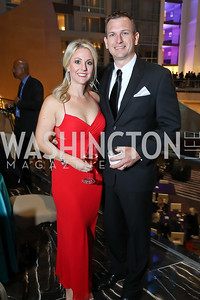 Kristin and Matthew Hill. Photo by Tony Powell. 2018 Chamber of Commerce Gala. October 19, 2018