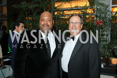 George Pollard, Chris Smith. Photo by Tony Powell. 2018 Chamber of Commerce Gala. October 19, 2018