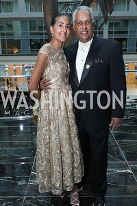 Sonia and Kamal Ali. Photo by Tony Powell. 2018 Chamber of Commerce Gala. October 19, 2018