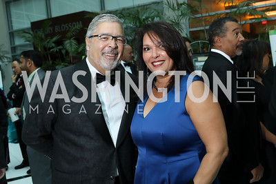 Rod Palmer, Candice Mitchell. Photo by Tony Powell. 2018 Chamber of Commerce Gala. October 19, 2018