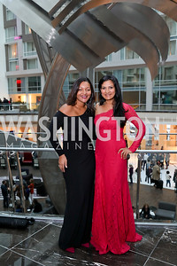 Felismina Andrade, Min Krishnamurthy. Photo by Tony Powell. 2018 Chamber of Commerce Gala. October 19, 2018