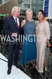 Guy Rohling, Kathryn Lavriha, Judy Jenkins. Photo by Tony Powell. 2018 Chamber of Commerce Gala. October 19, 2018