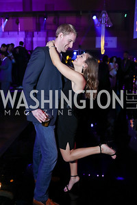 Will Hecht, Tanya Tinko. Photo by Tony Powell. 2018 Chance for Life. MGM National Harbor. March 10, 2018