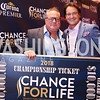Tournament winner Tim Rodgers, Brad Nierenberg. Photo by Tony Powell. 2018 Chance for Life. MGM National Harbor. March 10, 2018