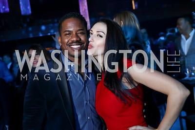 Chadleon Booker, Anna Veshniak. Photo by Tony Powell. 2018 Chance for Life. MGM National Harbor. March 10, 2018