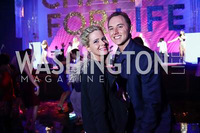 Sara Ballinger, Jordan Wanamaker. Photo by Tony Powell. 2018 Chance for Life. MGM National Harbor. March 10, 2018