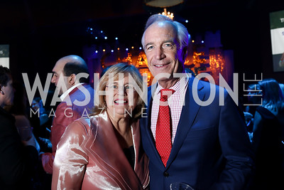 Patricia and Governor Dirk Kempthorne. Photo by Tony Powell. 2018 Chance for Life. MGM National Harbor. March 10, 2018