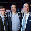Mainstreet Bank CFO Tom Chmelick, CEO Jeff Dick, President Chris Brockett. Photo by Tony Powell. 2018 Chance for Life. MGM National Harbor. March 10, 2018