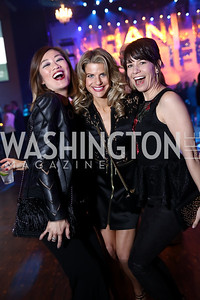 Pamela Sorensen, Callie Nierenberg, Colleen Avis. Photo by Tony Powell. 2018 Chance for Life. MGM National Harbor. March 10, 2018