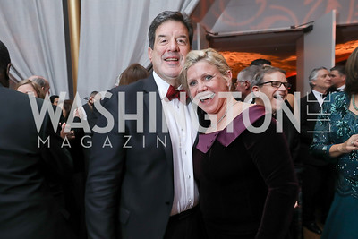 Scott Foreman and Leslie Sandoz. Photo by Tony Powell. 2018 Choral Arts Gala. Kennedy Center. December 17, 2018