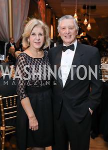 Consuelo Pareja and Peru Amb. Carlos Pareja. Photo by Tony Powell. 2018 Choral Arts Gala. Kennedy Center. December 17, 2018