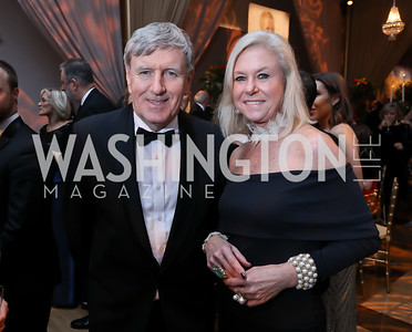 Ireland Amb. Daniel Mulhall, Julie Chase. Photo by Tony Powell. 2018 Choral Arts Gala. Kennedy Center. December 17, 2018
