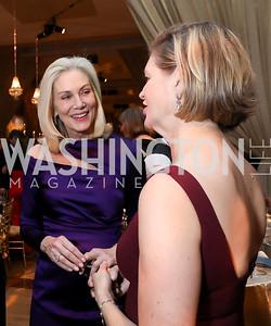 Cynthia Steele Vance, Caroline Cunningham. Photo by Tony Powell. 2018 Choral Arts Gala. Kennedy Center. December 17, 2018