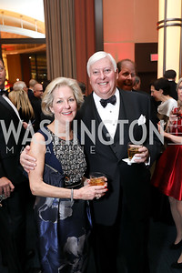 Molly and Rick Rolandi. Photo by Tony Powell. 2018 Choral Arts Gala. Kennedy Center. December 17, 2018
